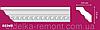 Decomaster карниз с орнаментом 95348
