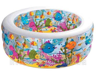"""Детский надувной бассейн """"Аквариум"""" Intex 58480 (152x56 см.), фото 2"""