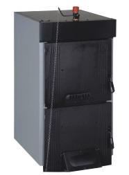 Твердотопливный чугунный котел Demrad Solıtech Qvadra SolidMaster S3