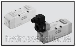 Клапаны серия ISO — пневматическое и электрическое управление