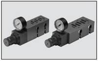 Редукционный клапан с плитой для клапана ISO 5599