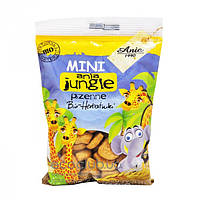 Печенье пшеничное Mini Jungle Bio Ania 100г