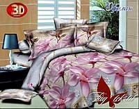 Постельное белье с компаньоном TAG Офелия двуспальный евро 200x220