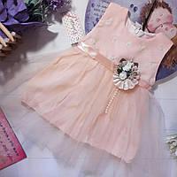 Нарядное платье на девочку 9 мес - 24мес