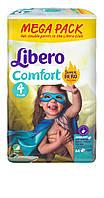 Подгузник детский Либеро Комфорт 4 (7-14кг) (84)