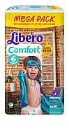Подгузник детский Либеро Комфорт 6 (12-22кг) (72)