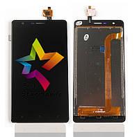Дисплей для мобильного телефона Oukitel K4000 Lite, черный, с тачскрином