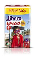 Подгузник детский Либеро Up&Go 6 (13-20кг) (58)