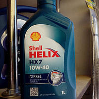 Масло Shell 10w40 1Ldiesel