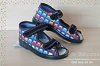Тапочки детские на мальчика Zetpol Зетпол детская текстильная обувь р.20,21,24,25