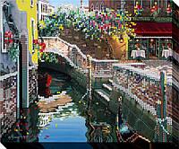 """Схема для вышивки бисером """"Венецианский канал"""""""