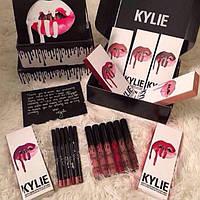 Помада Kylie 8611 12 цветов, только цвет MALIBOO
