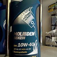 Масло Manol Molibden benzin Teilsuntetic 10W40 1L API SL\CF Германия