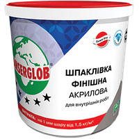 Шпаклевка ANSERGLOB ФИНИШНАЯ «АКРИЛОВАЯ» (супербелая готовая), 1,5 кг