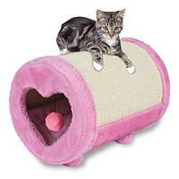 Когтеточка Trixie Scratching Roll для кошек круглая, 27х39 см