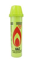 Газ пластик желтый для зажигалок 80мл. 10/100