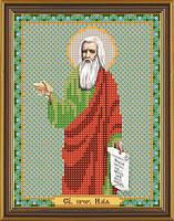 Схема для вышивки бисером Св. Прор. Илья (Илия)