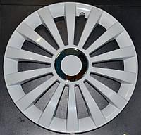 Колпаки на колеса диски для дисков R14 белые колпак K0098