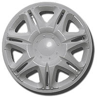 Колпаки R14 на диски R14 белые колпак K0099