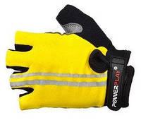 Перчатки для фитнеса Power Play (желтый)