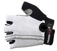 Перчатки для фитнеса Power Play (белый)