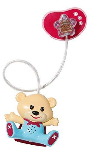 Соска пустышка для кукол Беби Борн Baby Born интерактивная с мишкой Zapf Creation 819258M