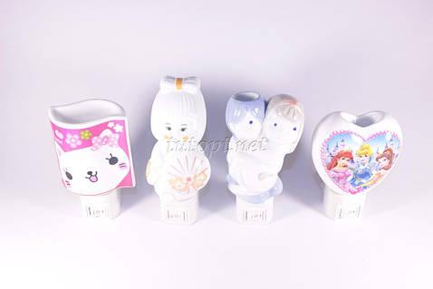 Ночники - Арома лампа керамика на E14 лампочке в 220V, 30 видов на ваш выбор.