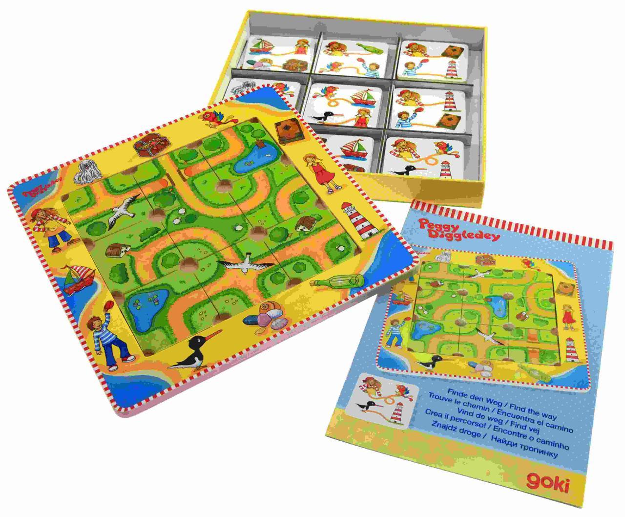 Goki Настольная игра Найди верный путь 56672