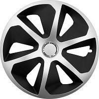Колпаки на колеса диски для дисков R14 серо / черные SL/BK МИКС колпак K0127