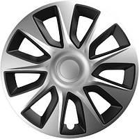 Колпаки на колеса диски для дисков R14 серо / черные SL/BK супер силвер колпак K0130