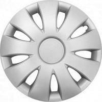 Колпаки на колеса диски для дисков R14 серые Silver колпак K0138