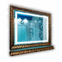 Зеркало gold standard light 700 х 1800 мм