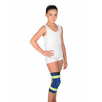 Бандаж на коленный сустав с пружинными ребрами жесткости Тривес детский, T-8506D/T-8530