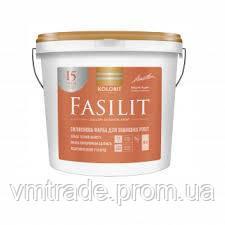 Фасадная Краска Kolorit Fasilit, 4.5л, С