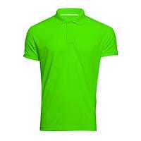 Мужская футболка-поло, спортивный стиль, 100% полиэстер
