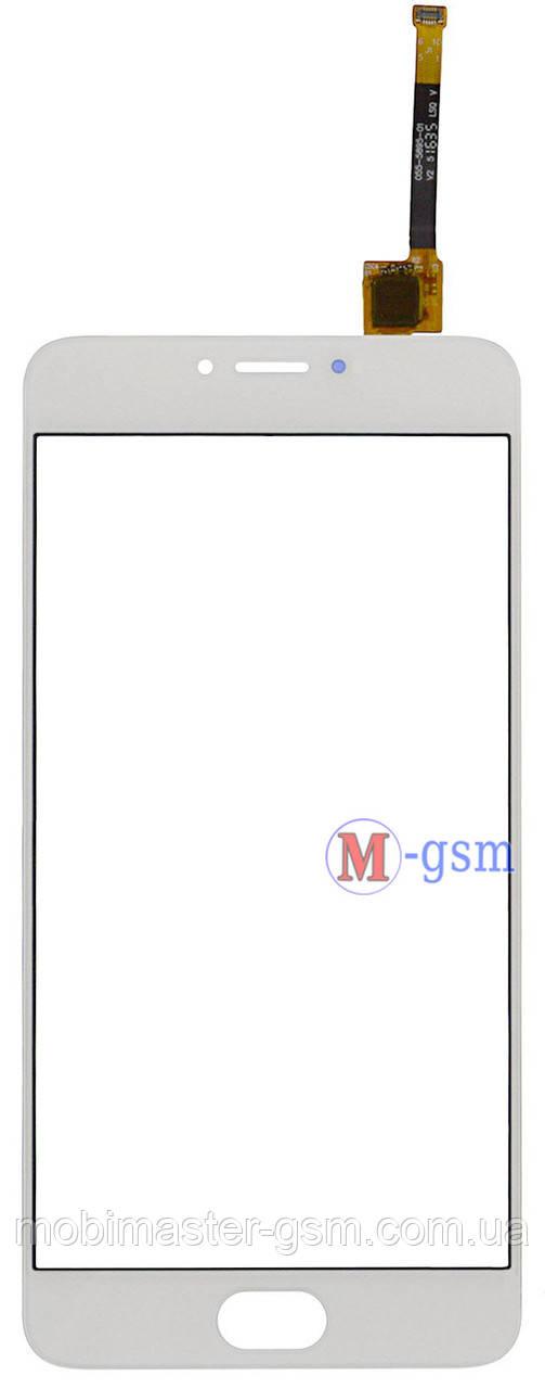 Сенсор (тачскрин) для телефона Meizu M3 Note (M681H / M681Q / M681C) белый