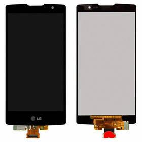 Дисплей (экран) для LG H422 Spirit Y70/H440/H442/H420 + с сенсором (тачскрином) черный