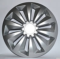 Колпаки R14 на диски R14 серые Silver колпак K0153