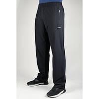 Мужские спортивные брюки Nike Батал 4040 Чёрные