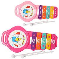 Музыкальная игрушка ксилофон YX007-008