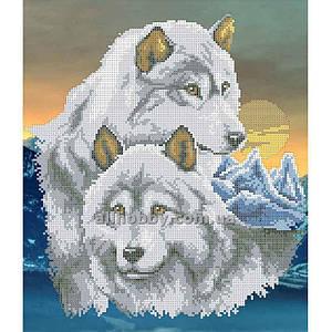 Схема для вышивания бисером Волки БИС3-14 (А3)