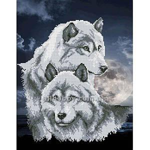 Схема для вышивания бисером Волки БИС3-14(1) (А3)