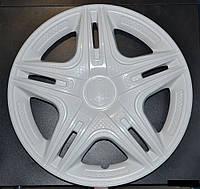 Колпаки на колеса R13 белые колпак K0007