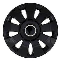 Колпаки на колеса R13 черные ринг Блэк колпак K0084