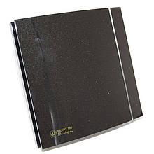 Вентилятор для ванной Soler&Palau SILENT-100 CZ BLACK DESIGN 4C