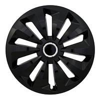 Колпаки на колеса R13 черные ринг блэк колпак K0090