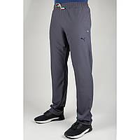 Мужские спортивные брюки Puma 4048 Тёмно-серые