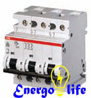 Выключатель автоматический ABB S 293C 125A предотвращающий скачки напряжения в сети
