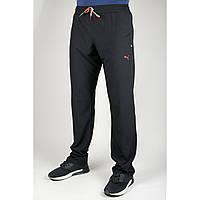 Мужские спортивные брюки Puma 4049 Чёрные