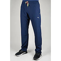 Мужские спортивные брюки Puma 4050 Тёмно-синие
